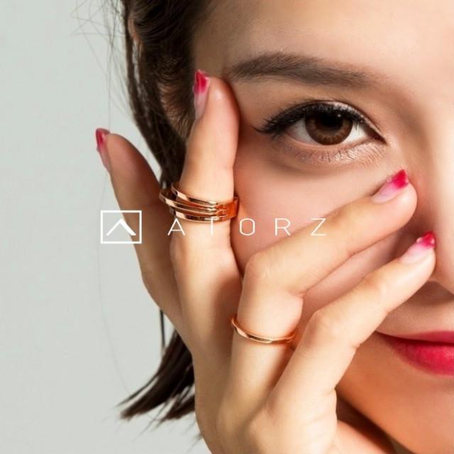 貴金屬精品系列 | VENV 活圍三環戒 ‧ 摯愛