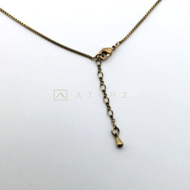 貴金屬精品系列   VENV銅條項鍊‧夕日