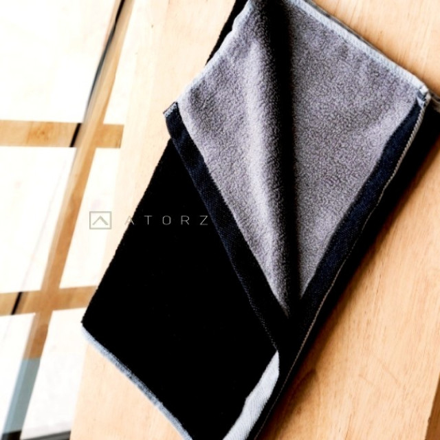 萊賽爾天絲棉毛巾 ‧ 冷冽黑