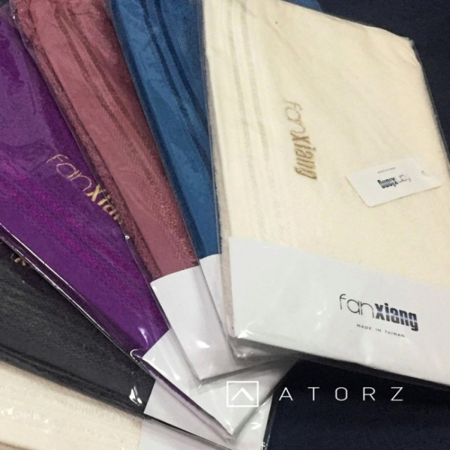 Reactive Dye活性染料‧品牌同名款刺繡毛巾
