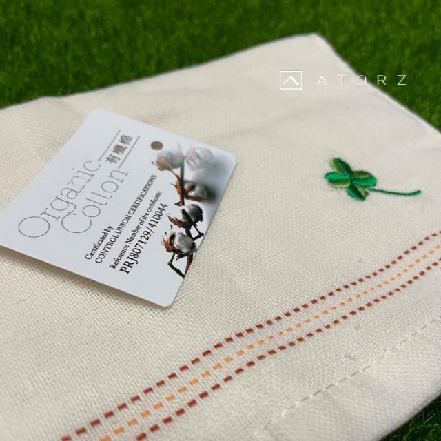 幸運草有機紗布毛巾
