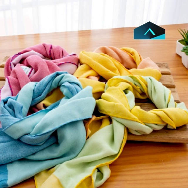 萊賽爾抗菌圍巾