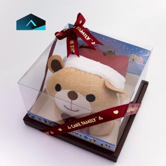 聖誕熊浴巾禮盒