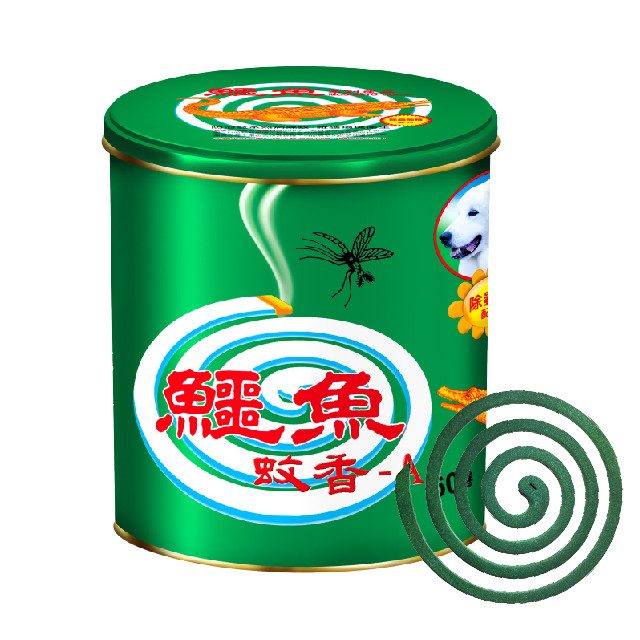 鱷魚蚊香-A鐵罐60卷