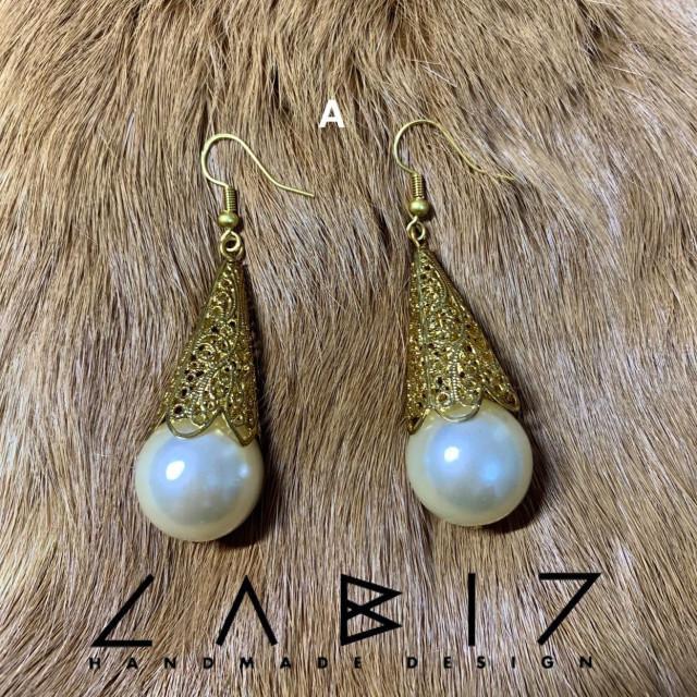 Labiz Handmade Design 金珠系列耳飾