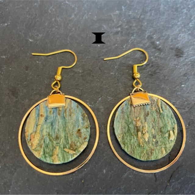 獨樹依織-大圓耳環