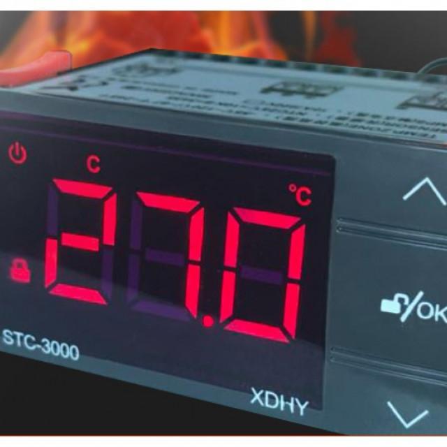 AC110~220V/30A觸控式溫度控制器