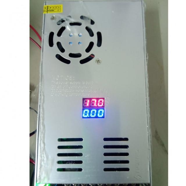 AC110V/220V轉 DC0~24V 600W 電源供應器 電壓電流雙顯示並可調整(選紐款式)
