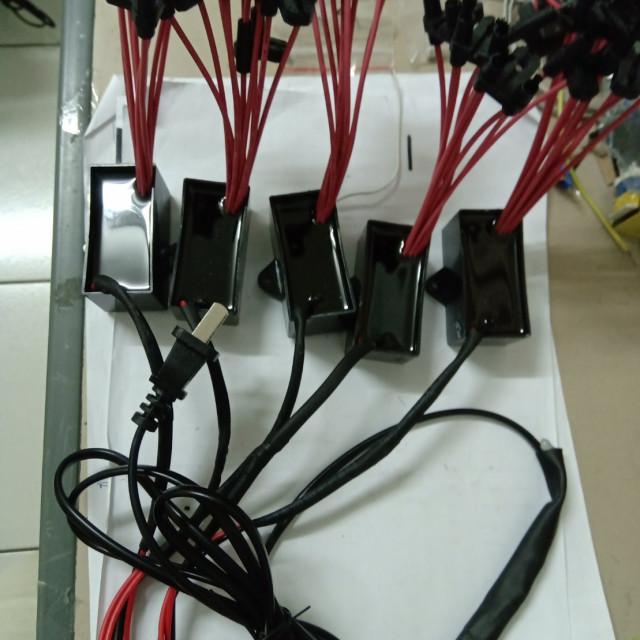 AC110V 5組總共50個刷頭負離子產生器模組