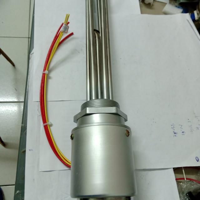 白鐵電熱管AC380V 三相 4000W 搭配EGO 30~110度 溫度控制
