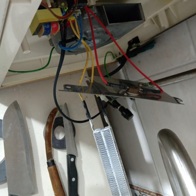 AC110V烘碗機PTC帶電波紋陶瓷加熱器