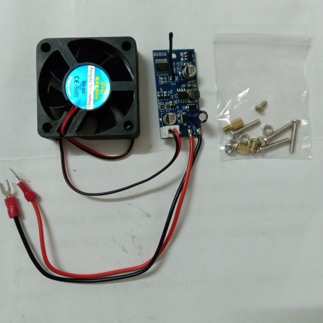 DC6V~70V溫度控制散熱模組+風扇
