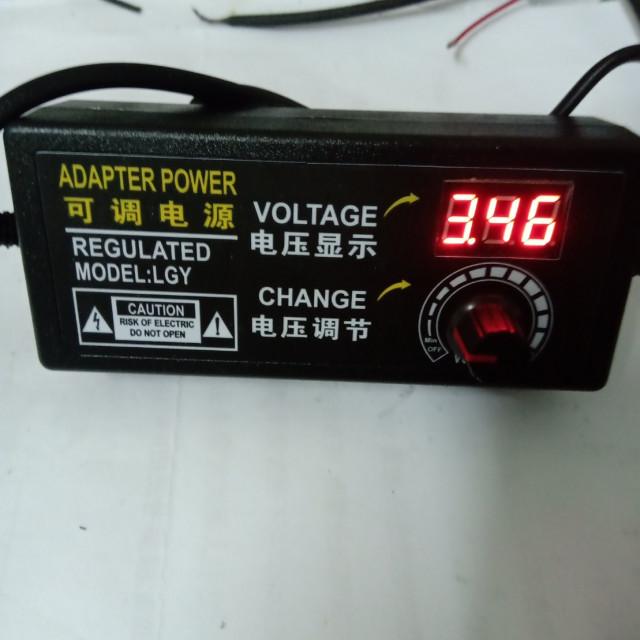 DC3~24V 2A 可調式變壓器