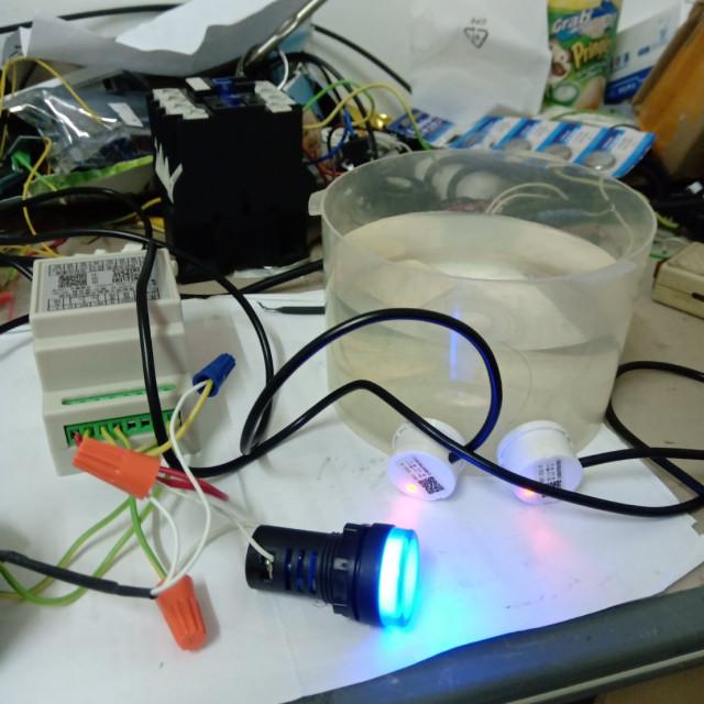 非接接觸式上下水位控制器 ,液位探頭線長100公分