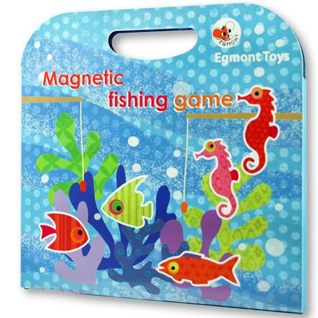 歡釣總動員-磁鐵遊戲-艾格蒙 Magnetic fishing game
