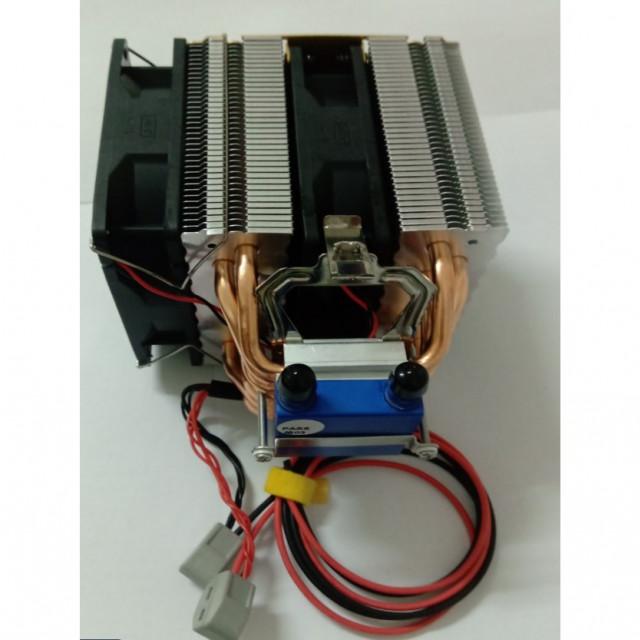 DC12V水族用25L以內水量水冷機模組(包含電源供應器,抽水馬達,進出水管,溫度控制器)