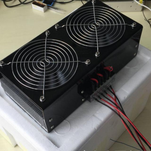 寵物孵蛋用DC12V/360W冷暖風恆溫模組(制冷器+溫度控制器+電源供應器)接AC110V或AC220V就可以用
