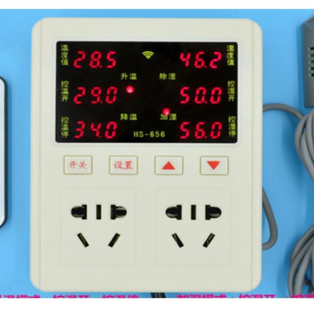 AC85~220V插座型溫溼度控制器