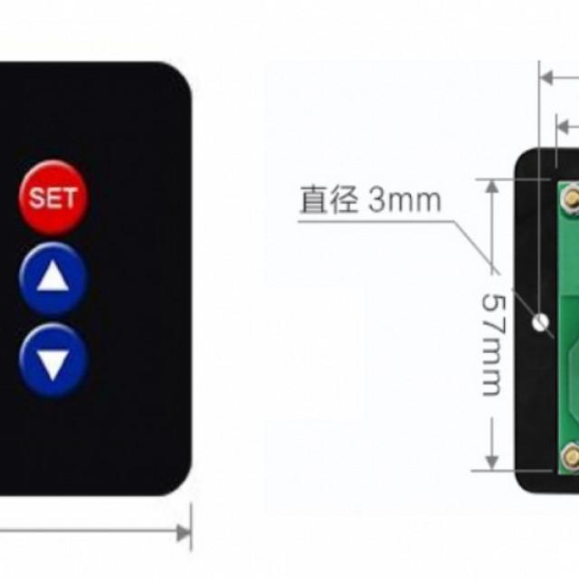 AC110V~220V/DC12~24V溫濕度控制器