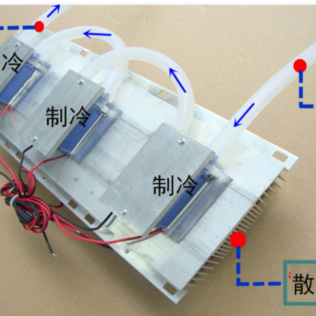 DC12V/180W水冷模組+DC12V20A電源供應器接AC110V就可以用