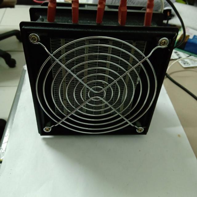 AC110V/220V1000W熱風模組出風口最高溫度90~95度+溫度控制器