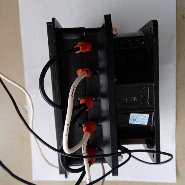 AC110V/220V1000W熱風模組出風口最高溫度90~95度