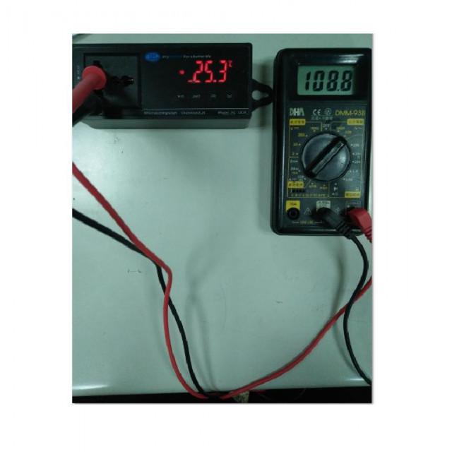 AC110V/繼電器16A大電流溫度控制器)