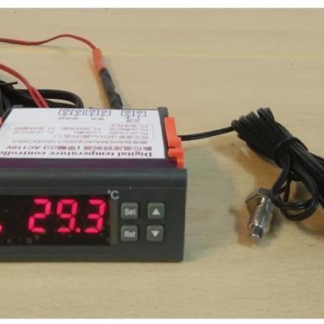 M8螺牙感溫棒數位式溫度控制器冷熱輸出