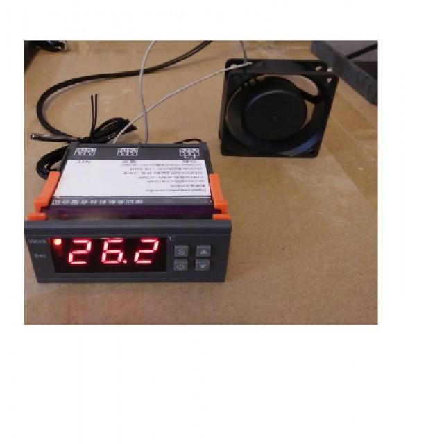 AC110V數位式溫度控制風扇加濕器