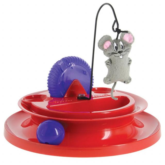 美國KONG貓咪遊樂場玩具(CA414)貓草玩具貓玩具