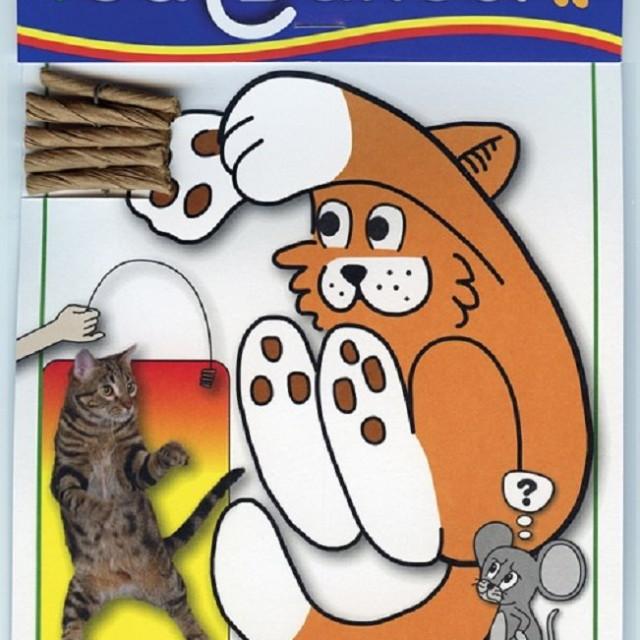 正版美國Cat Dancer貓舞者互動貓玩具鋼絲逗貓棒