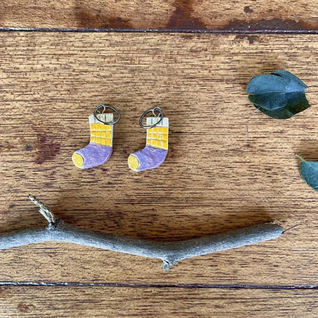【Kutsu】靴下・陶土編織記號圈