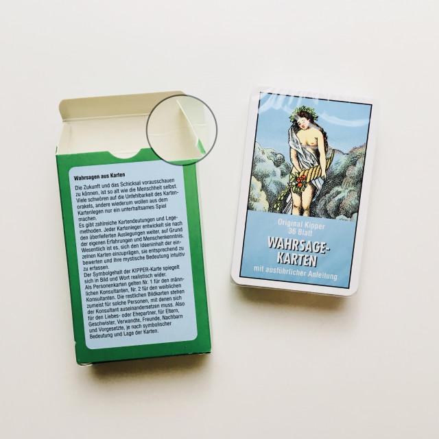 傳統德國基博卡|人物關係占卜|ASS德國製造|Kipper Wahrsagekarten