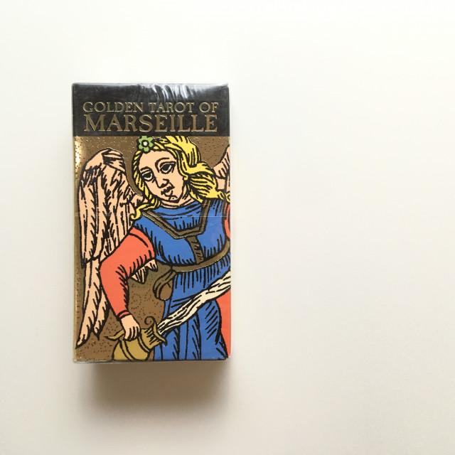 黃金馬賽塔羅|復刻燙金版|Golden Marseille Tarot