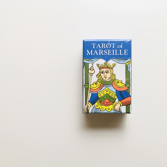經典馬賽塔羅|口袋版|硬盒|Tarot of Marseille