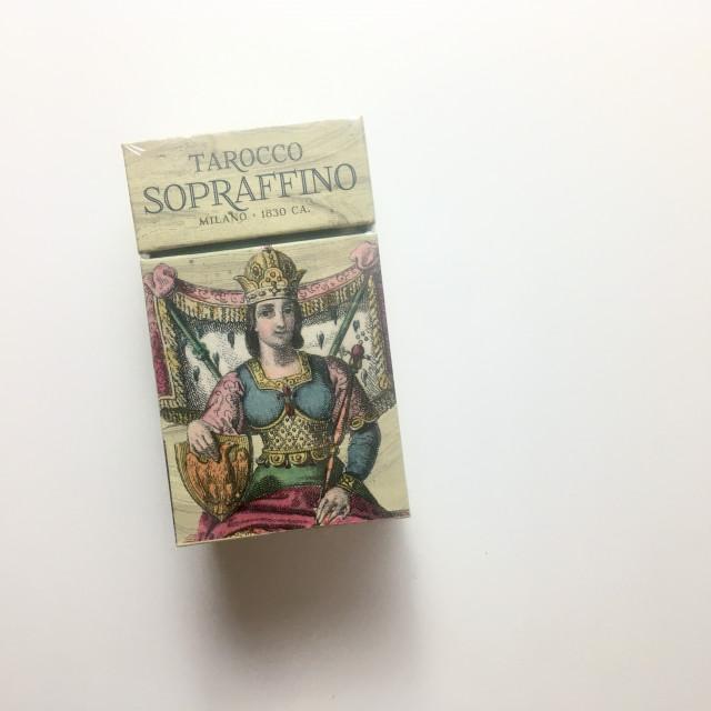 超細緻塔羅|聖甲蟲 Ancient Soul 系列復刻限定版|硬盒|Tarocco Sopraffino