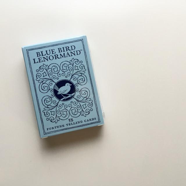 青鳥雷諾曼|擴充男女牌各2張|Blue Bird Lenormand