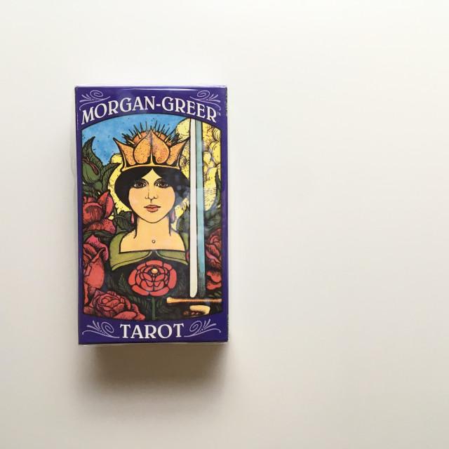 摩根吉爾塔羅|經典偉特×1970 年代|無邊框|Morgan-Greer Tarot