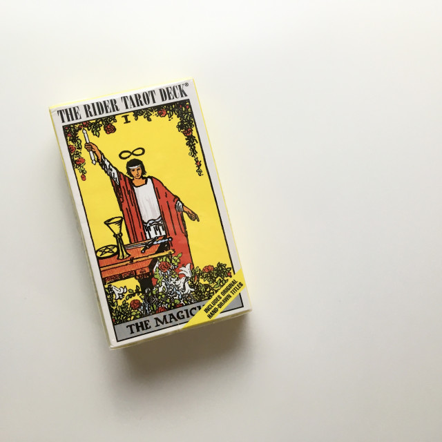 元祖萊德偉特牌|原裝手繪字牌號及牌名|The Rider Tarot Deck