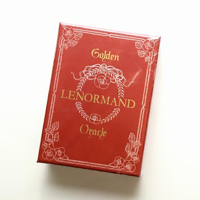 燙金雷諾曼|硬盒|Golden Lenormand Oracle