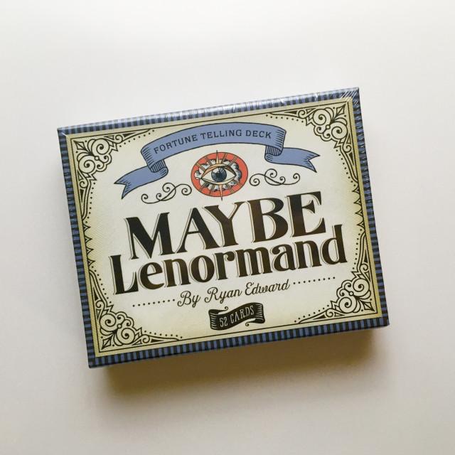 或者是雷諾曼|撲克占卜兼用|硬盒|Maybe Lenormand