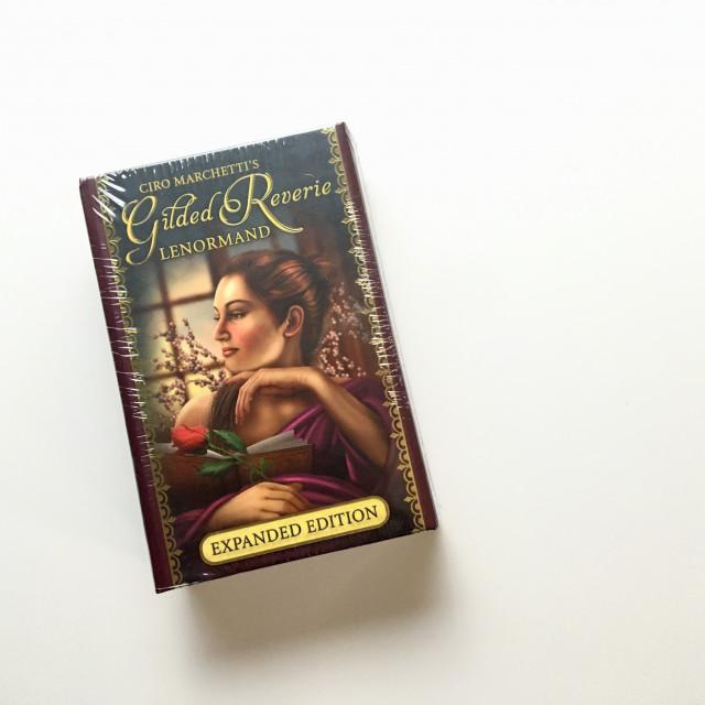 最華麗的雷諾曼|鍍金邊|8 張擴充牌|硬盒|Gilded Reverie Lenormand, Expanded Ed.
