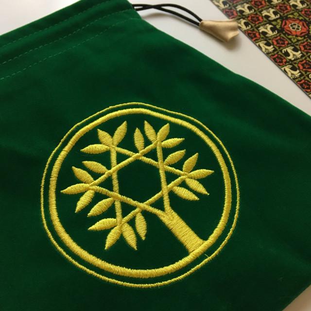 聖甲蟲牌袋|加厚植絨|樹