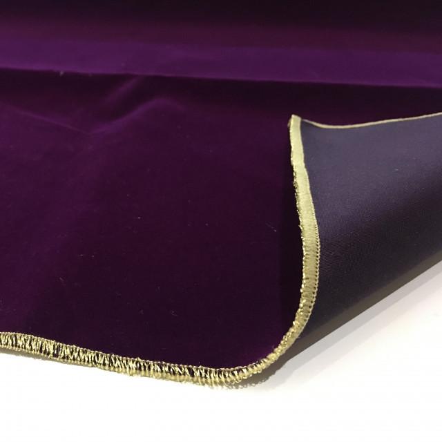 塔羅桌布|繡邊|加厚純色植絨|75x75cm