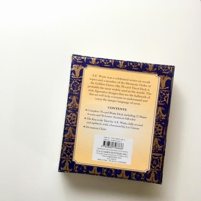 特別珍藏 經典萊德偉特牌 原作牌卡及說明書 硬盒 The Original Rider Waite Tarot