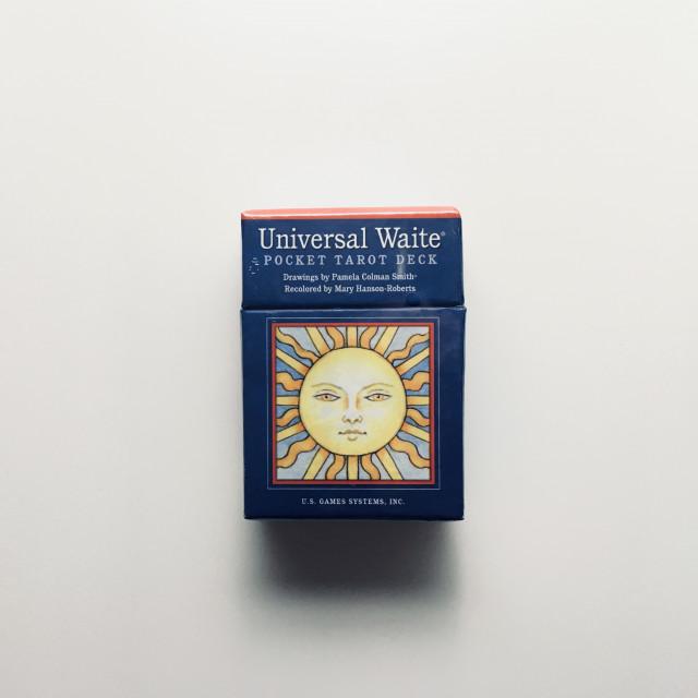 通用偉特牌|口袋尺寸超細緻版本|硬盒|Universal Waite Pocket Tarot