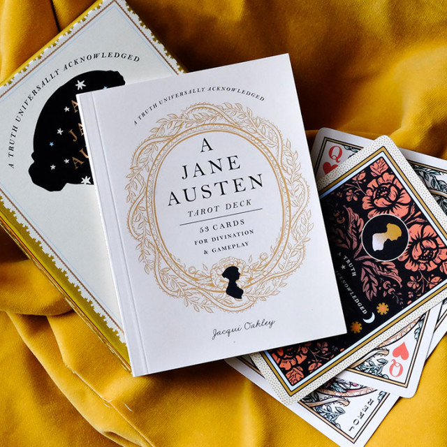 珍奧斯汀占卜卡|唯美攝政時代重現|硬盒|A Jane Austen Tarot Deck