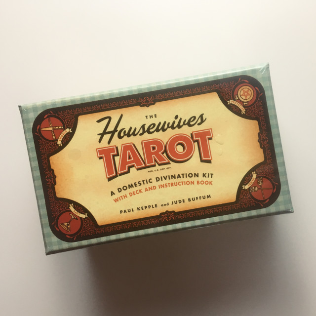 一家之煮塔羅牌|好古錐 50's 超幽默復刻|優質紙卡+硬盒|The Housewives Tarot