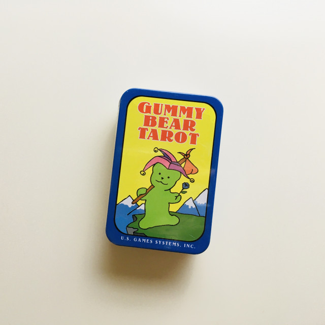 小熊軟糖塔羅|最好吃的偉特牌|鐵盒|Gummy Bear Tarot