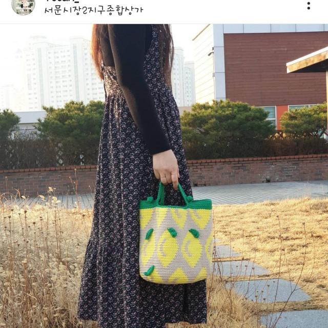 1ttam 檸檬手提包